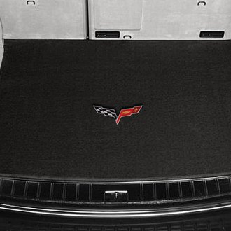 Lloyd® - Ultimat™ Custom Fit Ebony Cargo Mat With C6 Logo