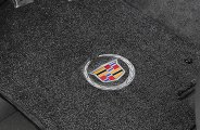 Lloyd® - Ultimat™ Custom Fit Floor Mats with Cadillac Logo