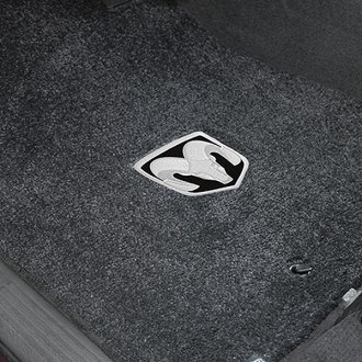 Lloyd® - Ultimat™ Custom Fit 1st Row Dark Slate Floor Mats With Ram Logo