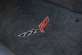 Lloyd® - Velourtex™ Custom Fit Floor Mats with C6 Logo