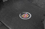 Lloyd® - Velourtex™ Custom Fit Floor Mats with Cadillac Logo