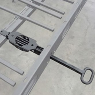 LoD Offroad® - Easy Access Sliding Roof Rack Open Assist Retractable Handle