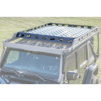 LoD Offroad® - Easy Access Sliding Roof Rack Aluminum Floor Panel Kit