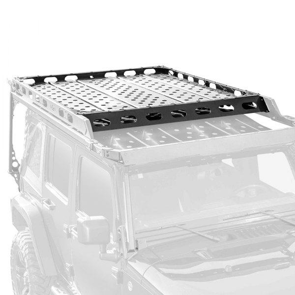 LoD Offroad®   Easy Access Sliding Roof Rack Aluminum Floor Panel Kit
