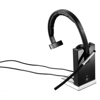 Logitech® - H820e Single Ear Wireless Headset