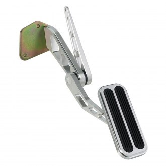 Lokar® - Billet Aluminum Throttle Pedal with Rubber Inserts