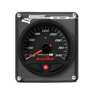Longacre® - AccuTech™ SMi™ Stepper Motor Oil Temperature Gauge With Sensor