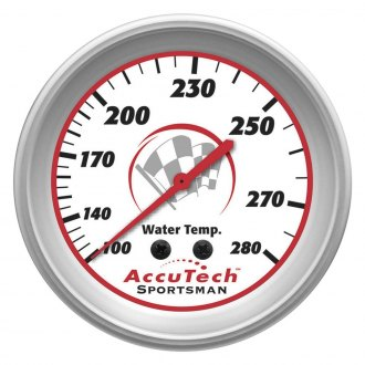 Longacre® - AccuTech™ Water Temperature Gauge, 100-280 Degree F