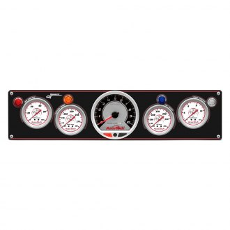 Longacre® - Gauge AccuTech™ Sportsman™ White Face Gauge Panels