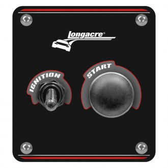 Longacre® - Aluminum Start and Ignition Panel with Weatherproof Switch Cover