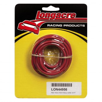 Longacre® - 16 Gauge 15' Electrical Wire, Red