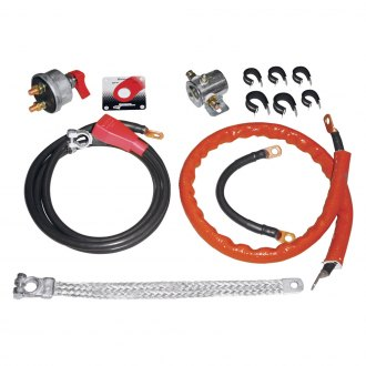 Longacre® - 133 Strand Deluxe Battery Cable Kit