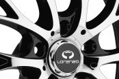 LORENZO® - WL27 Chrome with Gloss Black Windows Close-Up