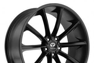 "LORENZO® - WL32 Satin Black (20"" x 8.5"", +35 Offset, 5x114.3 Bolt Pattern, 72.6mm Hub)"