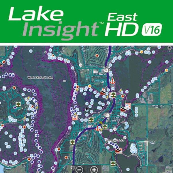 Lowrance 000 12594 001 Lake Insight HD East V16