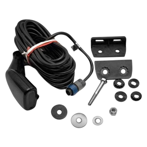 Lowrance® - HST-DFSBL 7-Pin Plastic Transom Mount Transducer W/O Cable