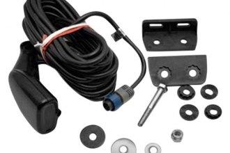 Lowrance 000 0106 77 hst dfsbl transom mount transducer for Lowrance trolling motor transducer installation