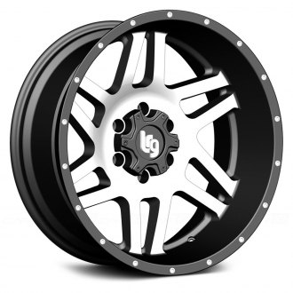 LRG® - 111 Satin Black with Machined Face