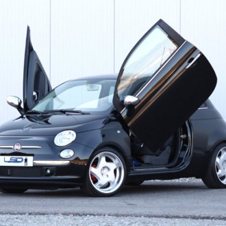 LSD Doors® - Lambo Vertical Doors Kit & Fiat 500 Lambo Doors | Vertical Doors Conversion Kits u2013 CARiD.com