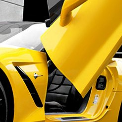 LSD-Doors® - Lambo Vertical Doors on Corvette