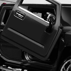 LSD-Doors® - Lambo Vertical Doors on Hummer-H2