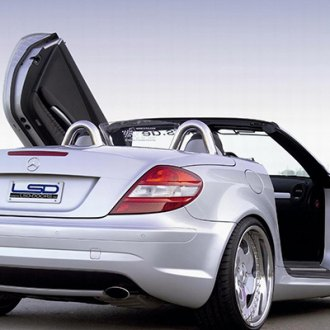 LSD-Doors® - Lambo Vertical Doors on Mercedes SLK