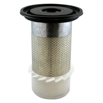 Luber-finer® - HD Finned Round Air Filter with Attached Lid