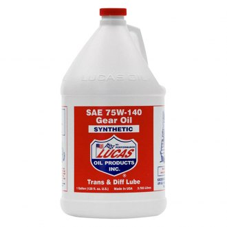 Lucas Oil® - SAE 75W-140 Synthetic Gear Oil, 1 gal