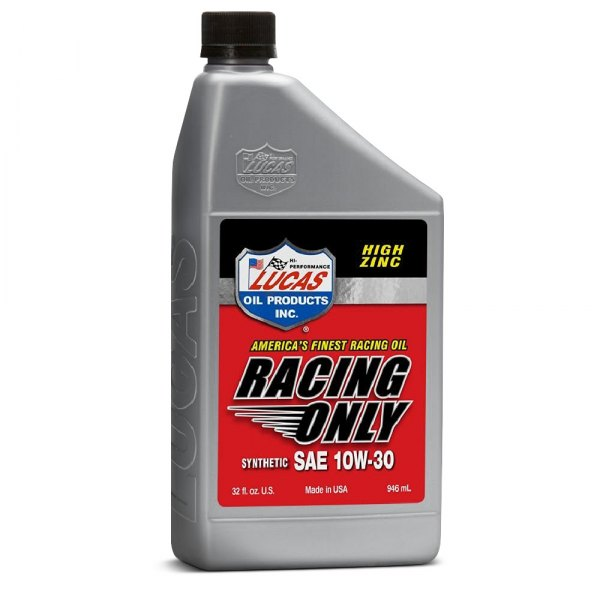 Lucas oil 10610 sae 10w 30 synthetic motor oil for What is synthetic motor oil made out of
