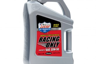 Lucas Oil® - SAE 20W-50 Synthetic Racing Oil, 1.25 gal