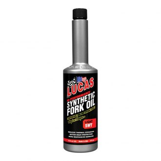 Lucas Oil® - SAE 5 WT Moto Synthetic Fork Oil, 16 oz