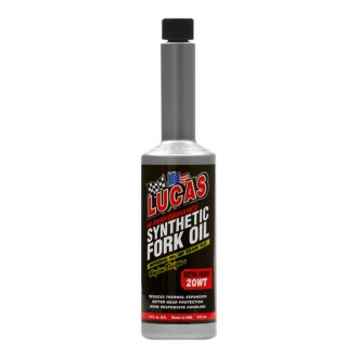 Lucas Oil® - SAE 20 WT Moto Synthetic Fork Oil, 16 oz