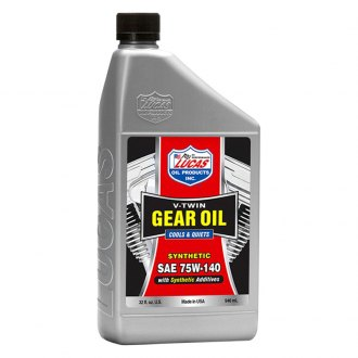 Lucas Oil® - SAE 75W-140 V-Twin™ Synthetic Gear Oil 1 Quart