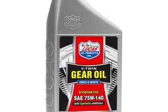 Lucas Oil® - SAE 75W-140 V-Twin™ Synthetic Gear Oil