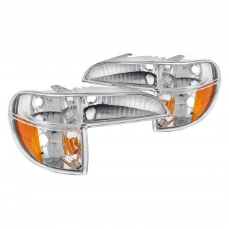 Lumen® - Chrome Crystal Turn Signal/Parking Lights