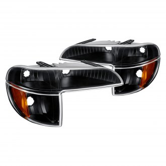 Lumen® - Black Crystal Turn Signal/Parking Lights