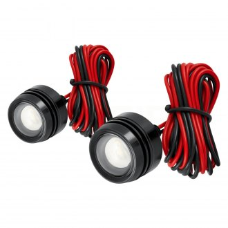 "Lumen® - 1"" Round Projector LED Daytime Running Lights"