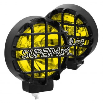 "Lumen® - Super 4x4 6"" Round Black Fog Lights"