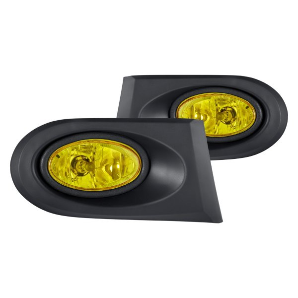 lumen acura rsx 2002 2004 yellow factory style fog lights. Black Bedroom Furniture Sets. Home Design Ideas