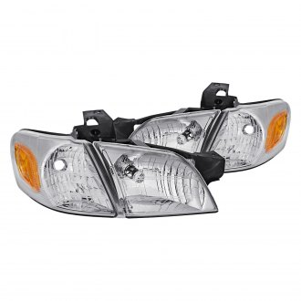 Lumen® - Chrome Factory Style Headlights with Corner Lights