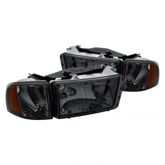 Lumen® - Chrome/Smoke Factory Style Headlights with Corner Lights