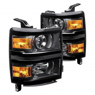 2016 chevy silverado custom factory headlights. Black Bedroom Furniture Sets. Home Design Ideas