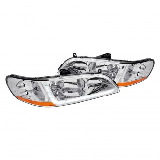 Lumen® - Chrome LED DRL Bar Headlights