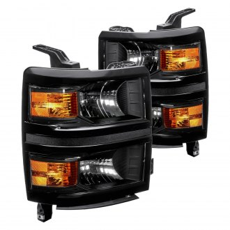 Lumen® - Black Euro Headlights