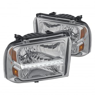 Lumen® - Chrome Euro Headlights with LEDs