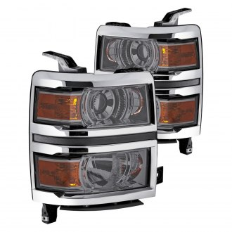 Lumen® - Chrome/Smoke Projector Headlights