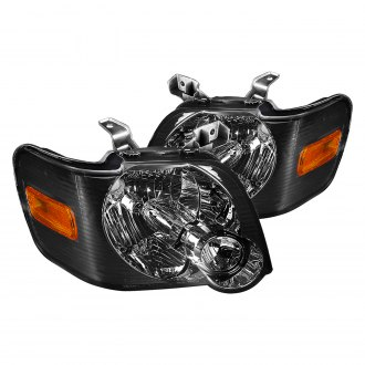 Lumen® - Black/Chrome Smoke Factory Style Headlights