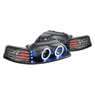 Lumen® - Black Halo Projector LED Headlights