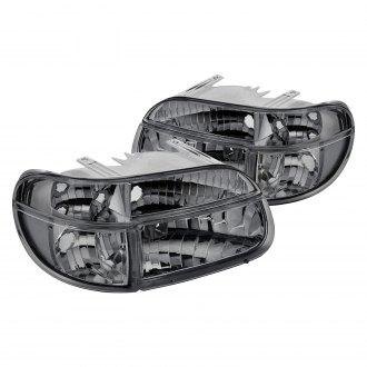 Lumen Chrome Smoke Euro Headlights