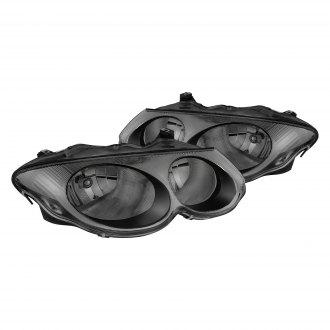 Lumen Chrome Smoke Factory Style Headlights
